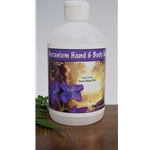Geranium Hand & Body Lotion 16oz